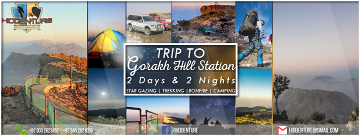 2 days and 2 nights Trip to Ghorak Hill Station