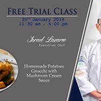Free cooking trial class