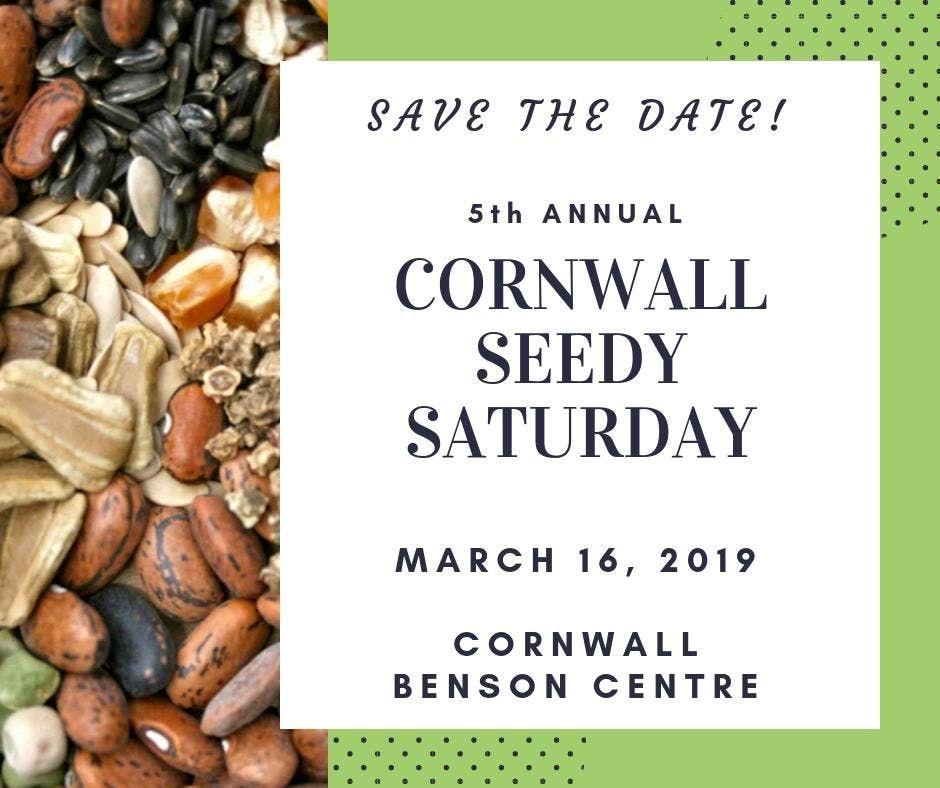 Seedy Saturday Cornwall - Vendor and Exhibitor Registration