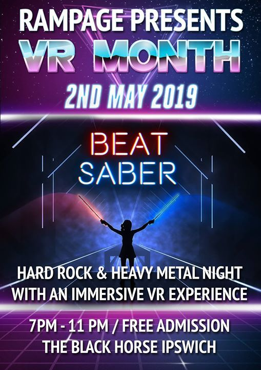 VR Month with Beat Saber at The Black Horse Ipswich, Ipswich