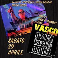 Cena e Live con Alberto Rocchetti e Deviazioni Spappolate