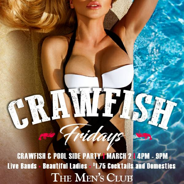 Crawfish Boil & Live Music Poolside