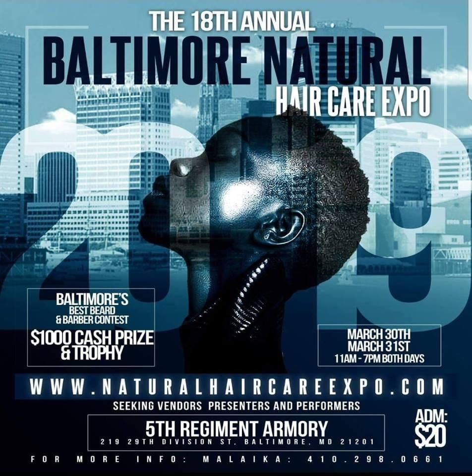 18th Annual Baltimore Natural Hair Care Expo Tickets