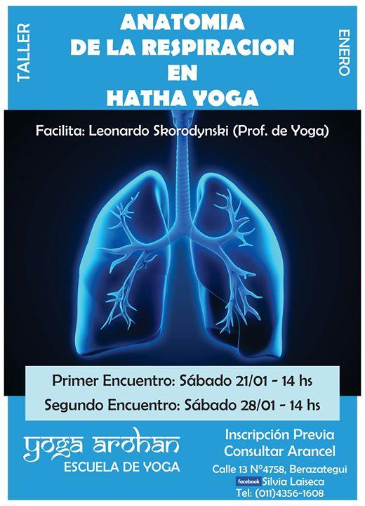 Anatomía de la Respiración en Hatha Yoga at Calle 13 N°4758 ...