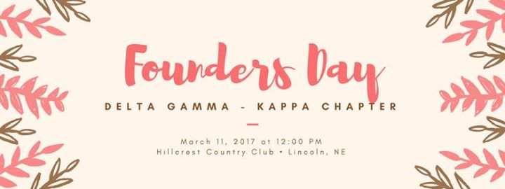 delta gamma founders day