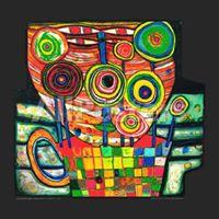 Art Workshops_ Hundertwasser_ The Blob Grow in the Flower Pot