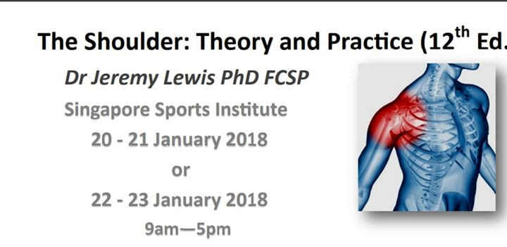 The Shoulder Theory And Practice 12th Edition - Dr Jeremy Lewis