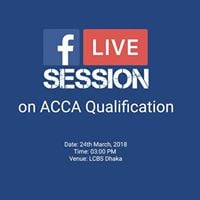 Facebook Live Session on ACCA Qualification
