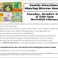Family Storytime at Meredith School
