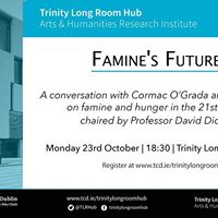 Famines Futures with David Rieff and Cormac OGrada