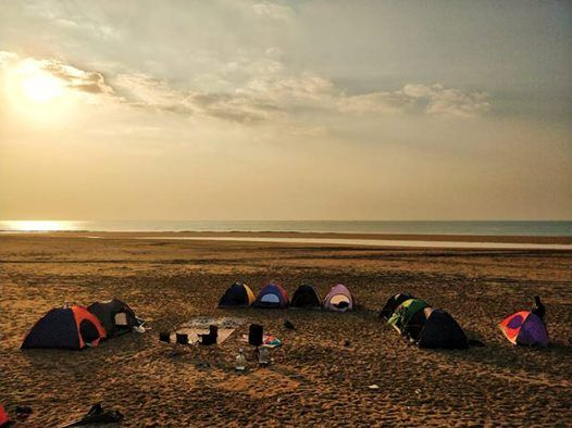 Sapat Beach Desert Safari & Movie Night