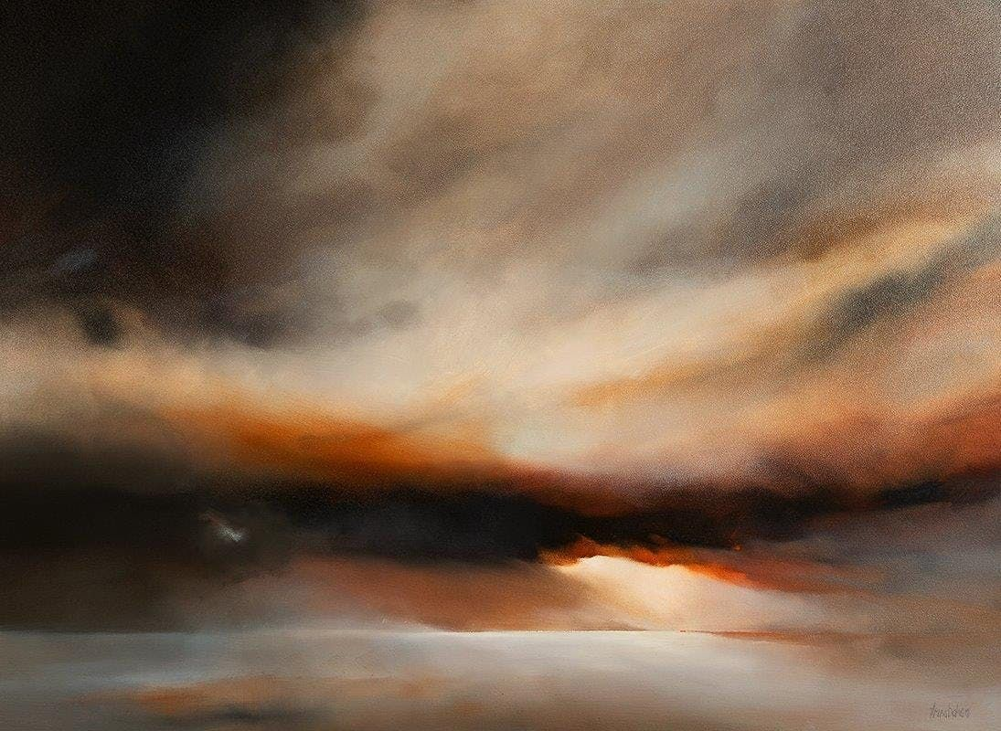 Trina Bohan Scottish Skyscapes Exhibition