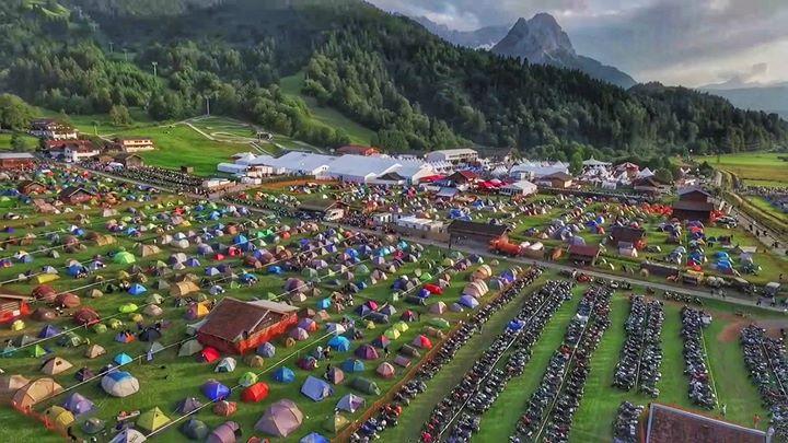 Bmw Motorrad Days 2018 At Garmisch Partenkirchen Germany Garmisch