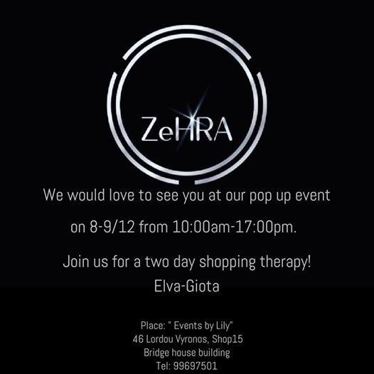 ZeHRA pop up event