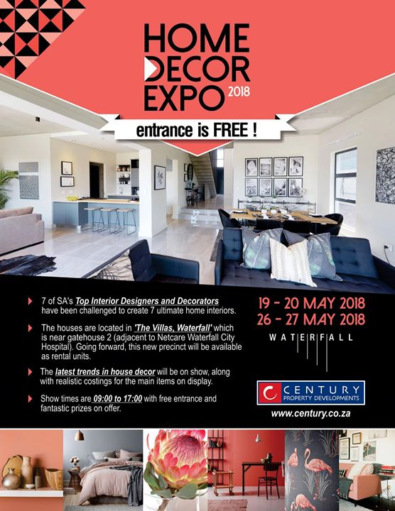 home and decor fair home decor expo 2018 at waterfall midrand johannesburg 10888