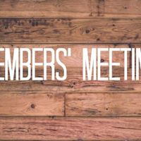 Members Meeting &amp Meal