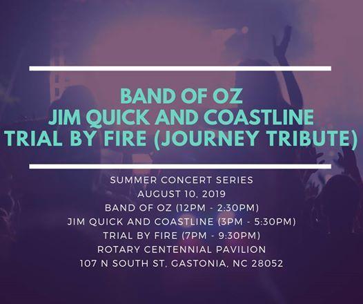 Summer Concert Series- Taste of Gaston (Multiple Bands)