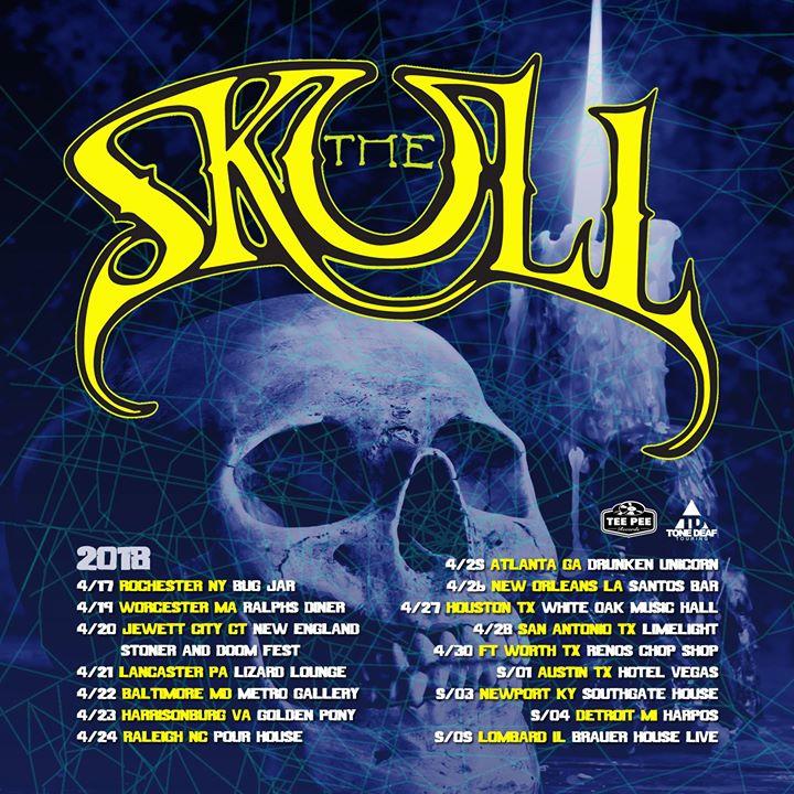 The Skull at White Oak Music Hall, Houston