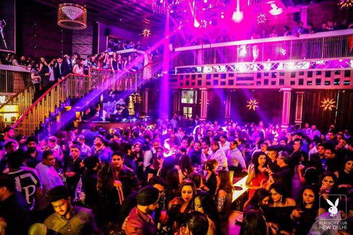 Saturday Night at Playboy Club Samrat Hotel  91-9711411500