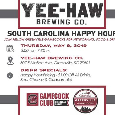 Greenville Gamecocks Happy Hour