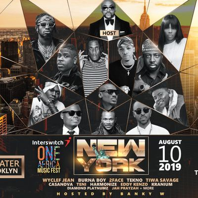 Interswitch One Africa Music Fest - New York