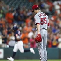Los Angeles Angels of Anaheim vs. Houston Astros at Anaheim CA