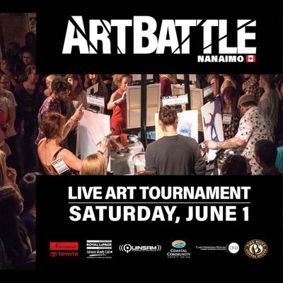 Art Battle Northern Vancouver Island Regional Finals - June 1 2019