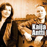 Kaija Krkinen &amp Antti Korhonen &quotKaiho&quot 27.10 klo 20. Liput 15