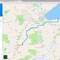 Road Ride 2  151 mi.
