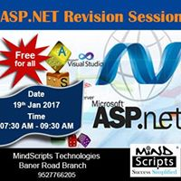 Asp.net Revision Session at Baner Road Branch