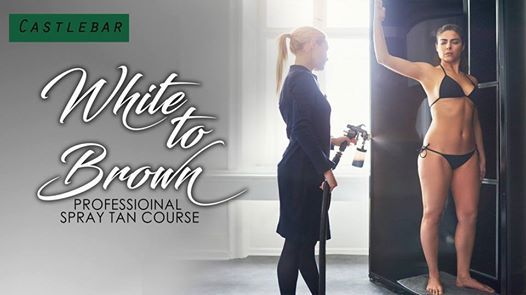 White to Brown Professional Spray Tan Course - Castlebar