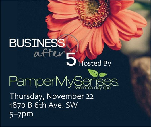 Business After 5 - Pamper My Senses