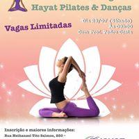 Aula aberta de Yoga no Hayat