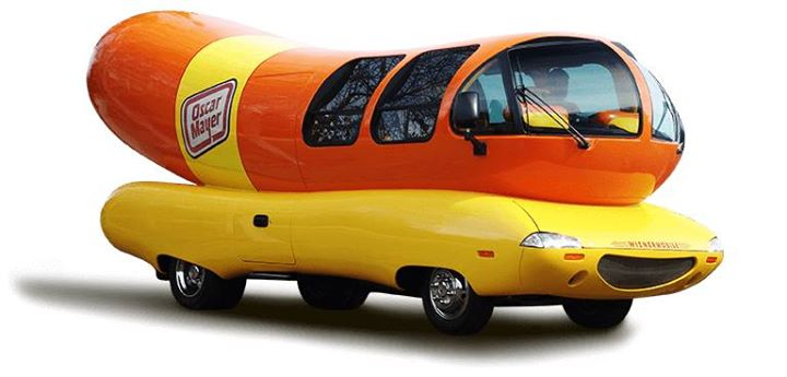 Oscar Mayer Weiner Mobile Visits The Toy Store At The Toy Store