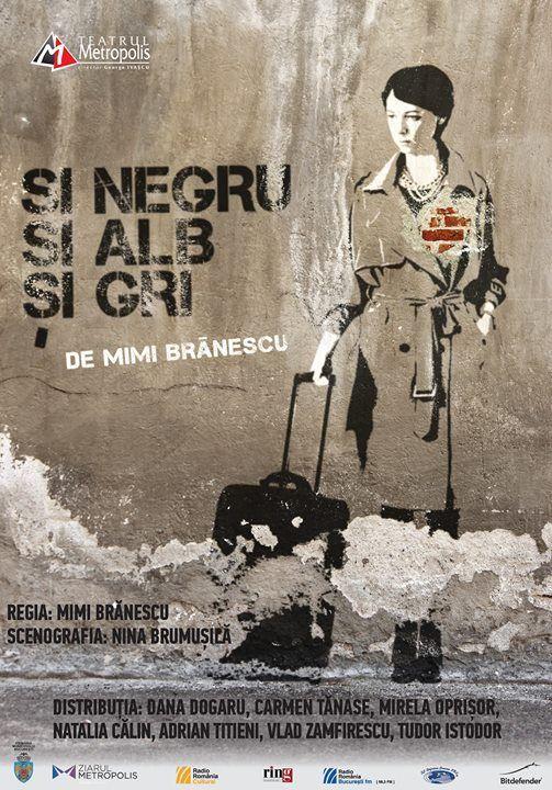 Sold out  I NEGRU I ALB I GRI de Mimi Brnescu