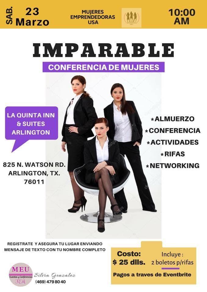 IMPARABLE  Conferencia de Mujeres