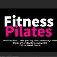 Fitness Pilates Course Thursdays Eastleigh College 11 Jan start