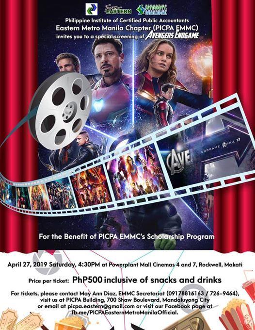 EMMC Special Movie Screening AVENGERS ENDGAME