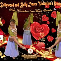 Bollywood and Belly Dance Valentines Party With Yoyi La Cubana