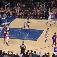 New York Knicks v. Los Angeles Lakers