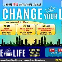 Change Your Life Workshop - Mumbai