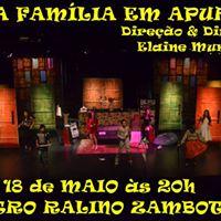 Espetculo Teatral - UMA Famlia EM Apuros