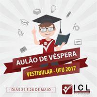 Mega Aulo de Vspera - Vestibular UFU 2017