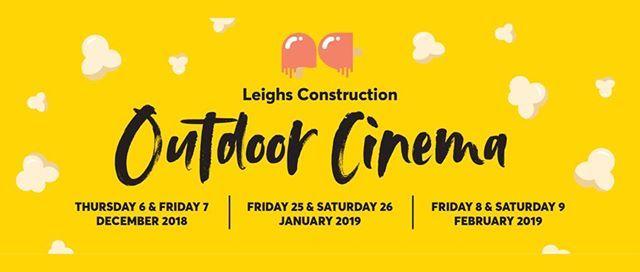 Leighs Construction Outdoor Cinema