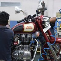 Industrial visit to Royal Enfield &amp Grundfos by edu2020