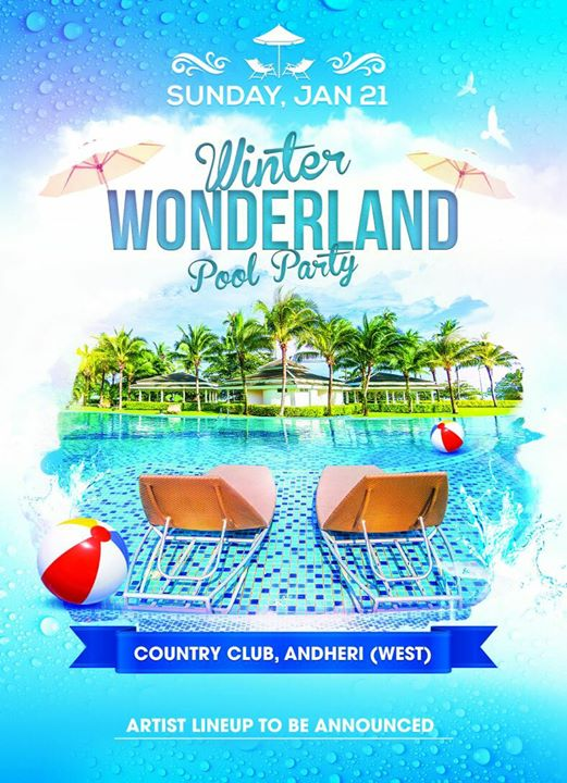 WONDERLAND POOL PARTY