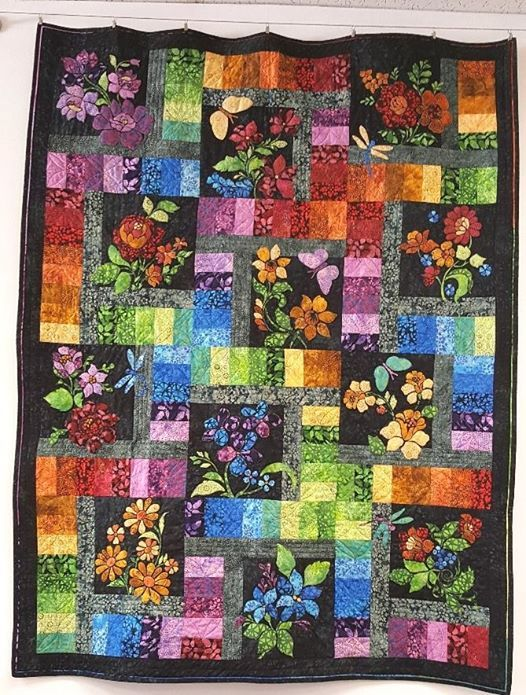 Enchanted Garden Block Of The Month Last Friday Of Each Month At