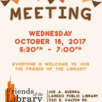 Friends of the Library - Meeting