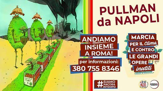 Bus da Napoli 23 Marzo - Roma - Marcia per il clima