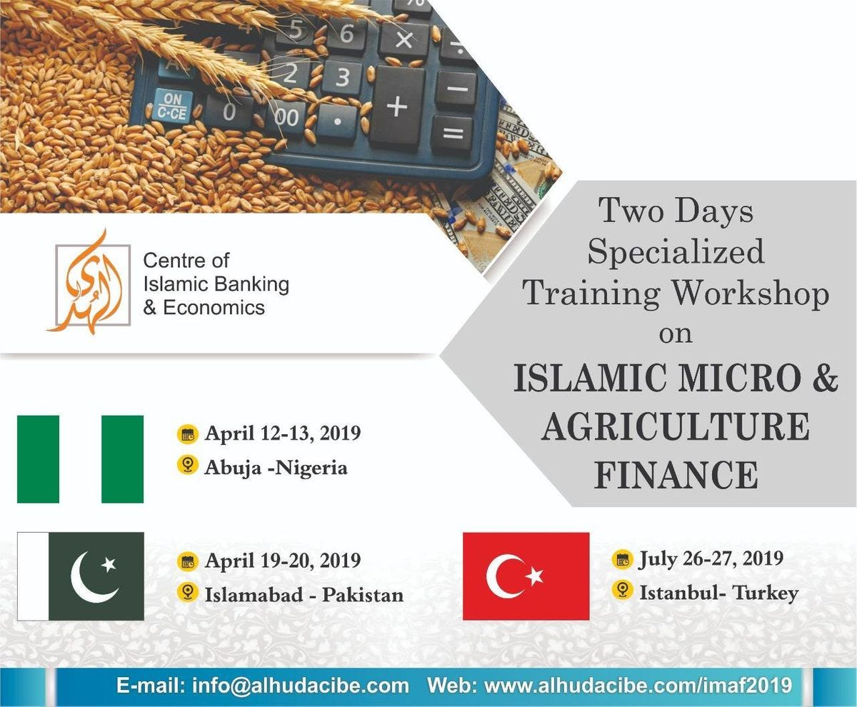 Series of Islamic Micro and Agriculture Finance Trainings